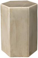 Jamie Young Company Porto Side Table, Pistachio Ceramic, Small