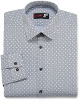 Jf J.Ferrar JF Long-Sleeve Slim Stretch Dress Shirt