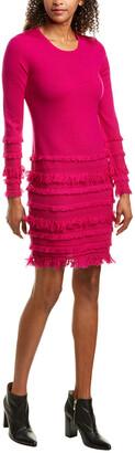 Trina Turk Sass Wool Sweaterdress
