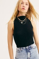 Free People Fluff It Up Cashmere Crop by Intimately at Free People, Black, XS