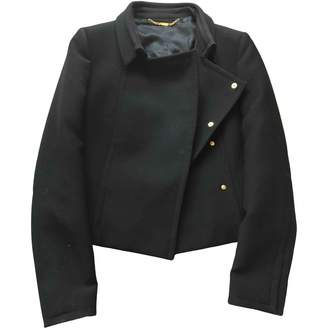 Gucci Black Polyester Leather jackets