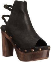Cordani Black & Brown Hatty Leather Sandal