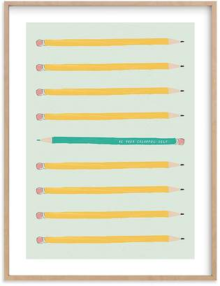 Pottery Barn Kids Live in Color Wall Art by Minted®, 11x14, Black