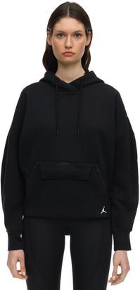 Nike Jordan Cotton Jersey Sweatshirt Hoodie