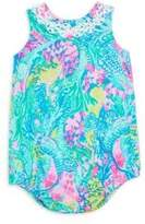 Lilly Pulitzer Baby Girl's May Cotton Bodysuit