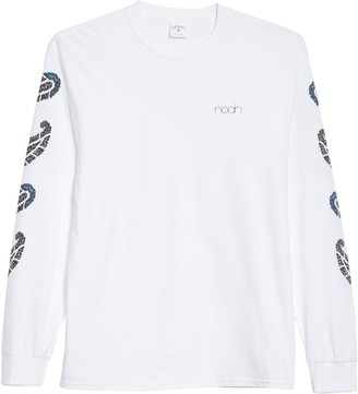 Noah Floral Paisley Long Sleeve Graphic Tee