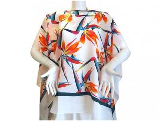 Fendi White Silk Dresses
