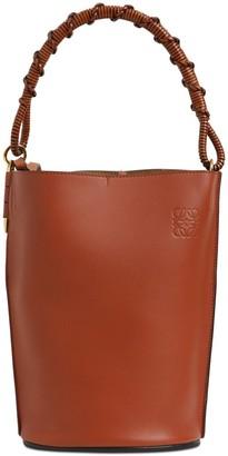 Loewe Gate Smooth Leather Bucket Bag