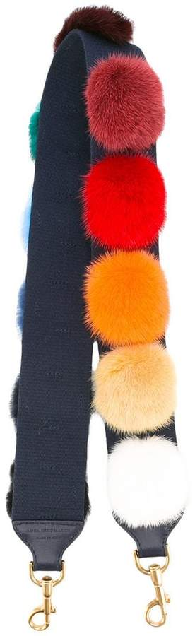 Anya Hindmarch pom pom bag strap