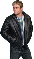 Scully Men's Zip Front Leather Jacket 977