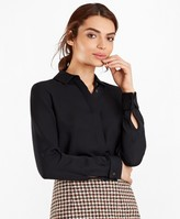 Brooks Brothers Silk Georgette French Cuff Shirt