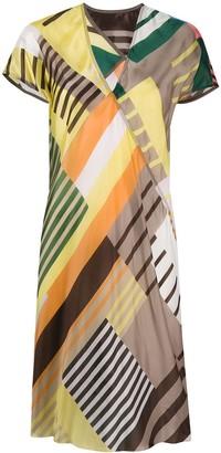 Rick Owens Short Printed Dress