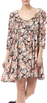 Angie Floral Babydoll Dress