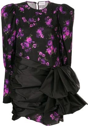 Magda Butrym Floral-Print Sash Dress