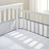 BreathableBaby 4 Sided Cot Mesh Liner (Grey) by