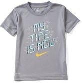 Nike Little Boys 2T-7 Dri-FIT My Time Short-Sleeve Tee