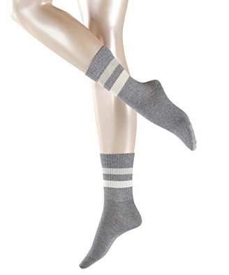 Esprit Women's Tennis Stripe Socks,(Size: 39-42) (pack of 2)