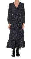 Thumbnail for your product : Rixo Colette Dot Print Midi Dress