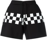 DSQUARED2 checkerboard shorts - women - Cotton/Polyurethane/Viscose - XS