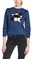 Orla Kiely Women's Towelling Sweatshirt Jumper