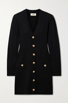 L'Agence Breanna Knitted Mini Dress - Black