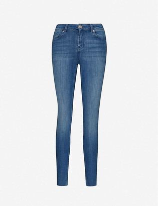 Ted Baker Skinny high-rise stretch-denim jeans