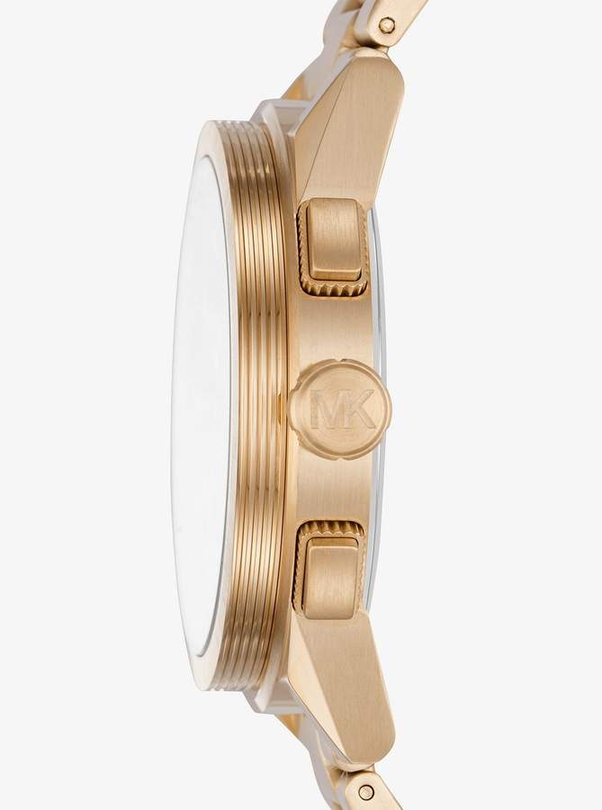 Michael Kors Grayson Gold-Tone Watch