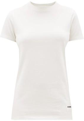 Jil Sander Pack Of Three Cotton T-shirts - White