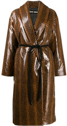 Ienki Ienki Oversized Robe Coat