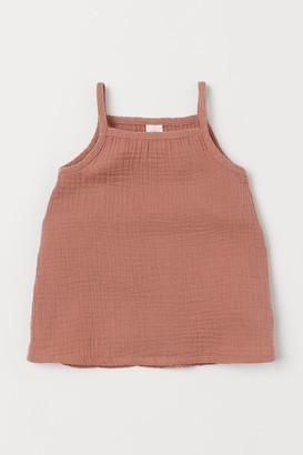 H&M Cotton Dress - Orange