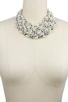 Saachi Imitation Pearl Statement Necklace