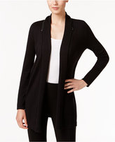 Alfani Petite Zip-Collar Cardigan, Only at Macy's