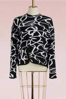 Proenza Schouler Asymmetrical wool sweater