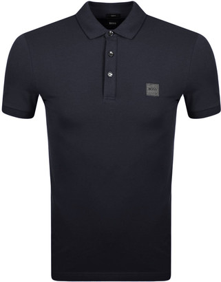 BOSS Passenger Polo T Shirt Blue