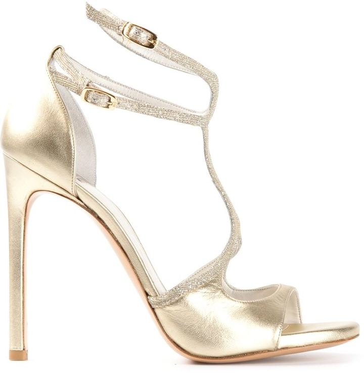 Stuart Weitzman 'Latenite' sandals