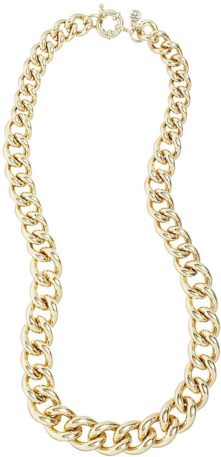 Brooks Brothers Graduated Round Link Necklace