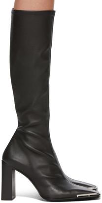 Alexander Wang Black Mascha Tall Boots