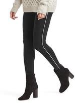 Gap Tuxedo stripe crop leggings