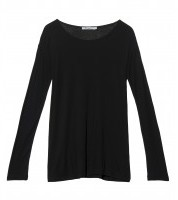 Alexander Wang Jersey Open Neck T