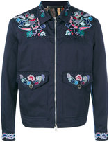 Paul Smith embroidered bomber jacket