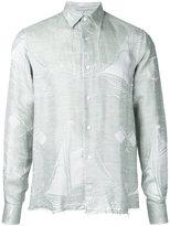 Loewe fringe boat shirt