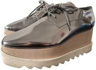 Stella McCartney Stella Mc Cartney Elyse Silver Polyester Lace ups
