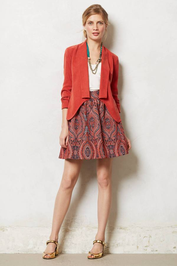 Anthropologie Karavi Skirt