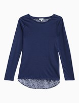 Splendid Girl Jersey with Print Long Sleeve Top