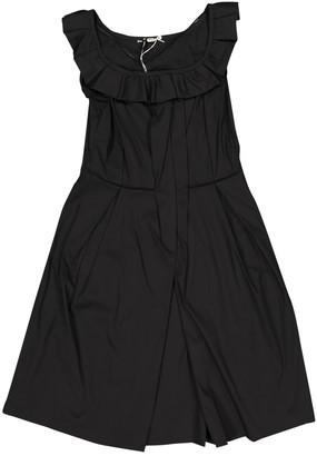 Miu Miu Black Cotton Dresses