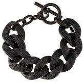 Michael Kors Crystal Curb Link Chain Bracelet