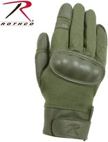 Rothco Flame and Heat Resistant Hard Knuckle Tactical Gloves,