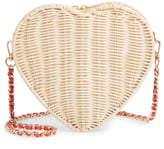 Ted Baker Heart Wicker Crossbody Bag