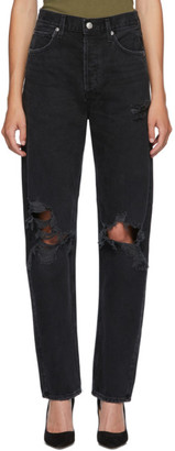 AGOLDE Black 90s Loose Fit Jeans