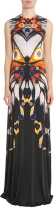 Givenchy Butterfly Printed Long Dress